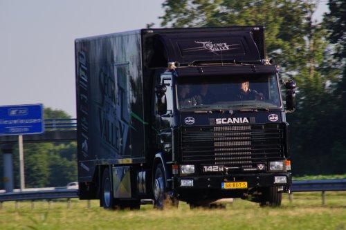 Scania 142, foto van E.J.Moes Fotografie