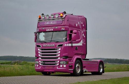 Scania R580, foto van Lucas Ensing