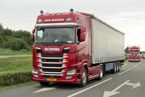 Scania S450, foto van Lucas Ensing