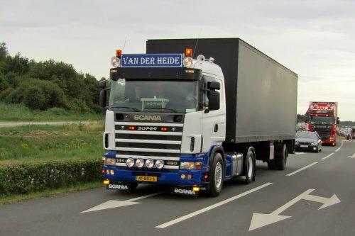 Scania 144, foto van Lucas Ensing