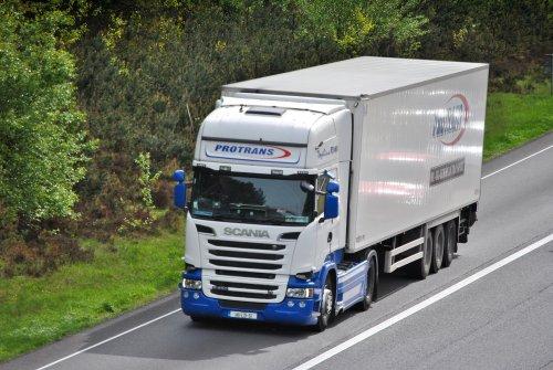 Scania R560, foto van Lucas Ensing