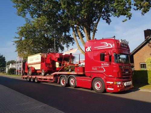 Scania R500, foto van wart