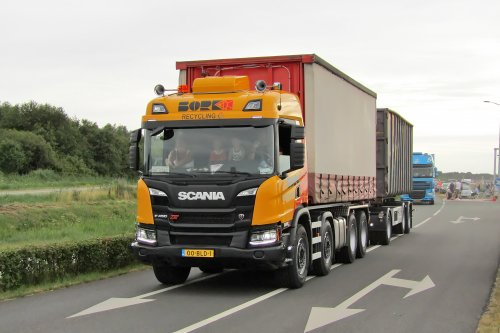 Scania P450 XT, foto van Lucas Ensing