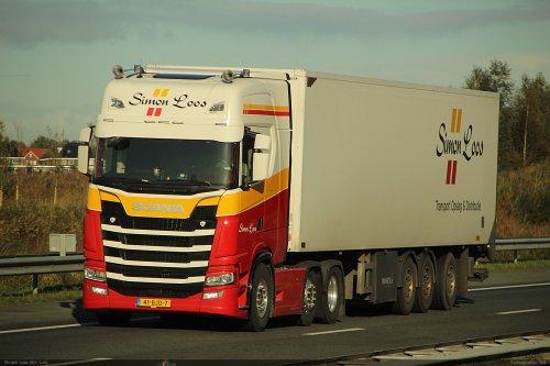 Scania S410, foto van Bram van der Leij