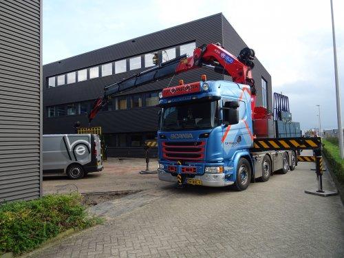 Scania G450, foto van dickt