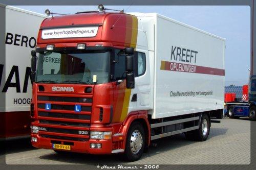 Scania 144, foto van Hans Kramer
