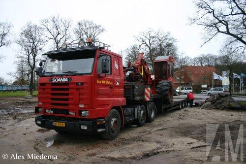 Scania 113 Streamline, foto van Alex Miedema