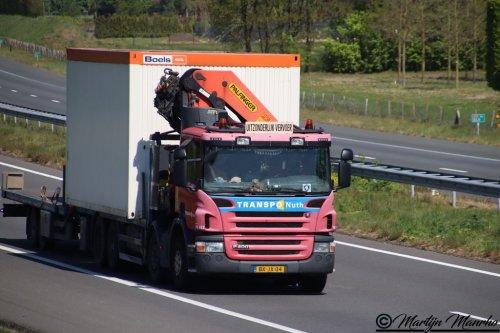 Scania P400, foto van MartijnM71