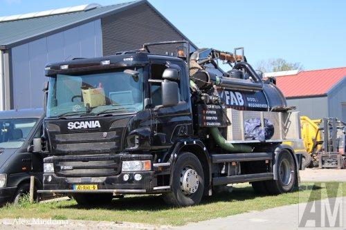 Scania P250, foto van Alex Miedema