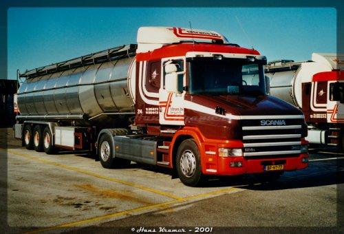 Scania T124, foto van Hans Kramer