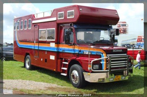 Scania T112, foto van Hans Kramer