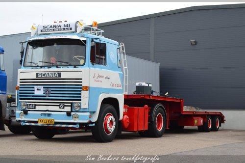 Scania 141, foto van sem-beekers