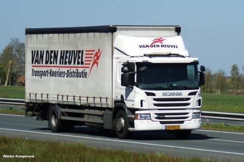 Scania P-serie, foto van wietze koopmans