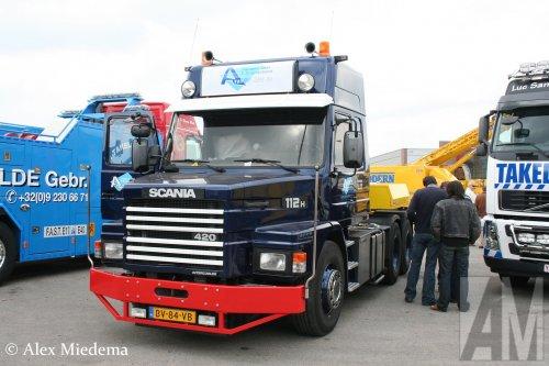 Scania T112, foto van Alex Miedema