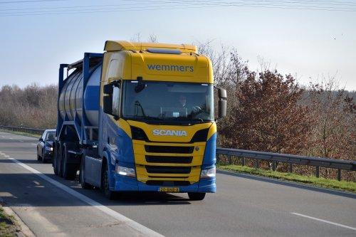 Scania R410 (new), foto van Lucas Ensing