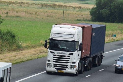 Scania R520, foto van William Hamstra