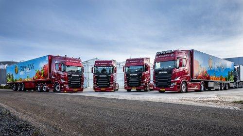 Scania 500S, foto van Truckfan Nieuwsposter