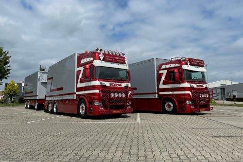 Scania R580, foto van Truckfan Nieuwsposter