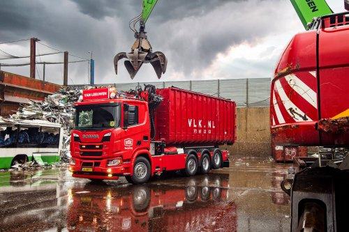 Scania R580 XT (vrachtwagen), foto van Truckfan Nieuwsposter