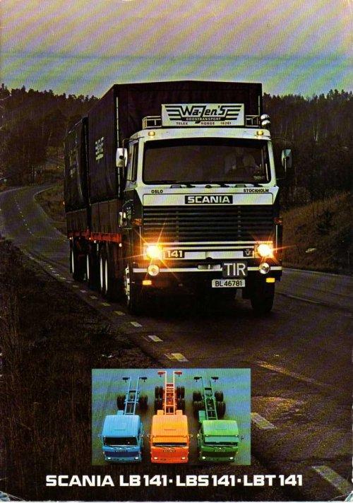 Scania folder, foto van René