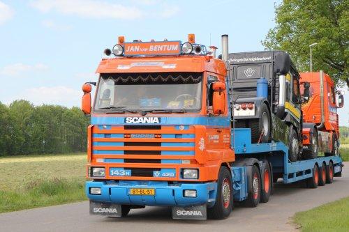 Scania 143 Streamline, foto van Tinus