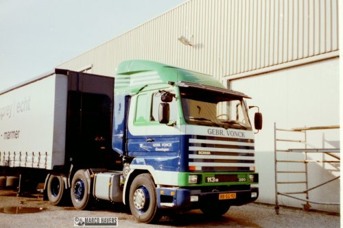 Scania 113 Streamline, foto van marco-havers