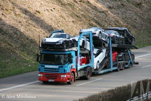 Scania P410, foto van Alex Miedema