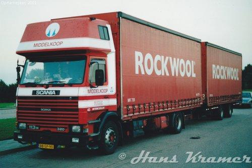 Scania 113, foto van Hans Kramer