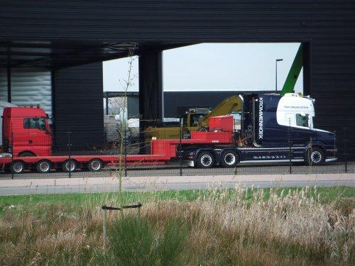 Scania T560, foto van dickt