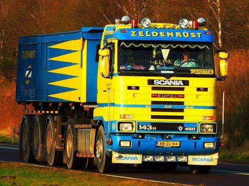 Scania 143 Streamline, foto van frank berghuis