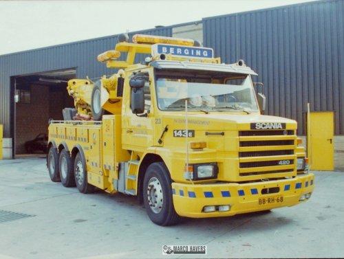 Scania T143, foto van marco-havers