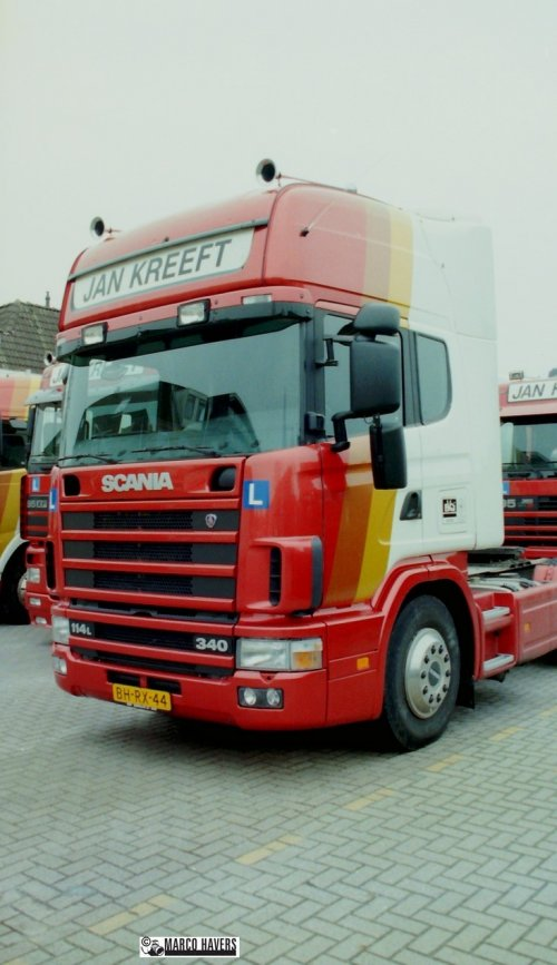Scania 114, foto van marco-havers
