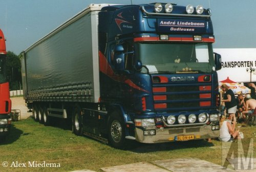 Scania 124, foto van Alex Miedema
