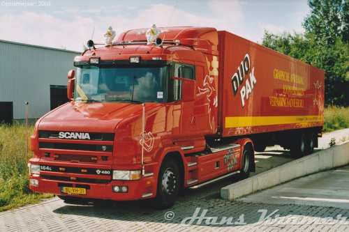 Scania T164, foto van Hans Kramer