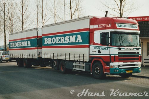 Scania 114, foto van Hans Kramer