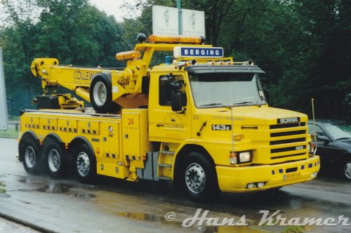 Scania T143, foto van Hans Kramer