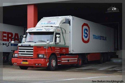 Scania T143, foto van sem-beekers