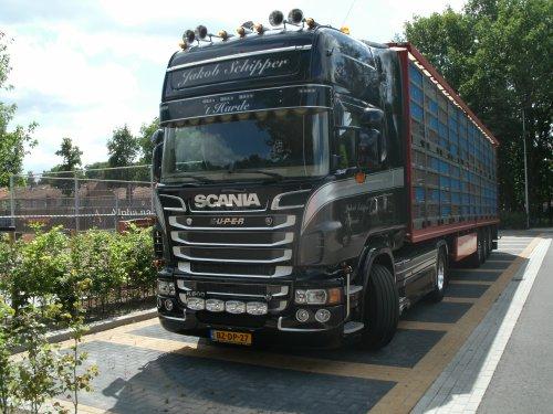 Scania R500, foto van gekke drent