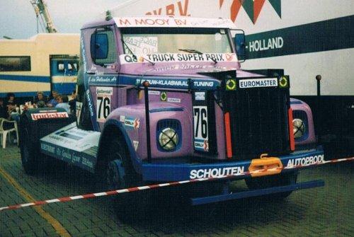 Scania onbekend/overig, foto van gekke drent