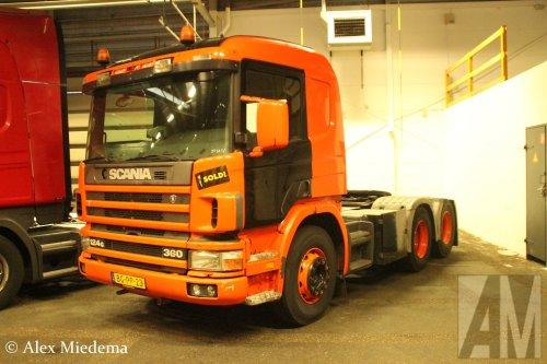 Scania-KIA 124, foto van Alex Miedema