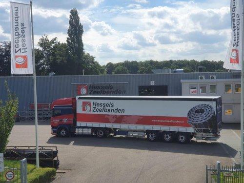 Schmitz oplegger, foto van Truckfan Nieuwsposter