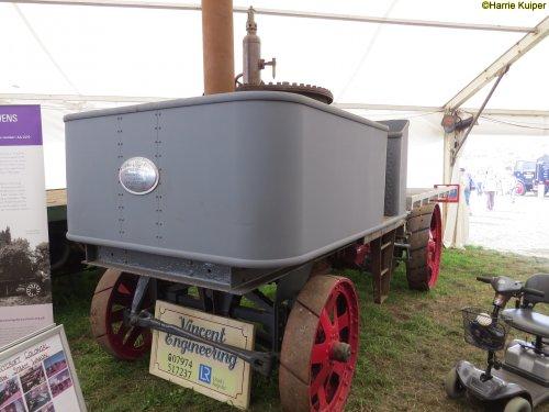 Sentinel stoomtruck, foto van oldtimergek