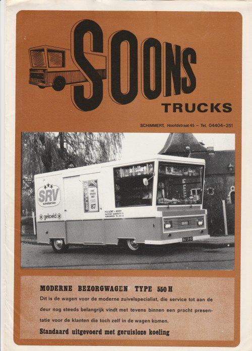 Soons folder, foto van Truckfan Nieuwsposter