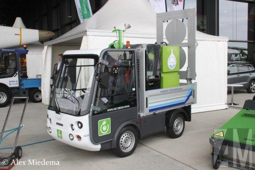 Spijkstaal elektrische truck, foto van Alex Miedema