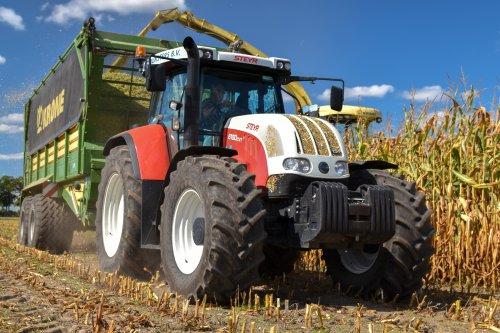 Steyr CVT 6150, foto van AgricultureVideoNL