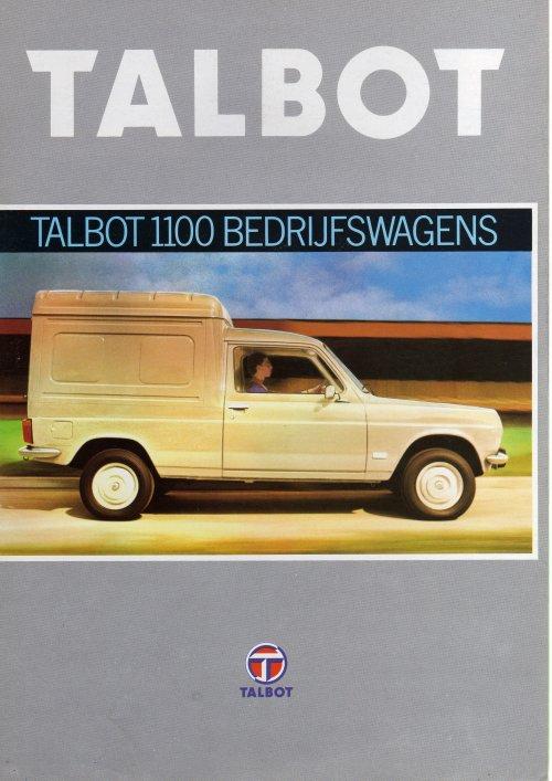 Talbot folder, foto van René