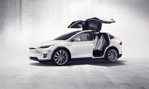 Tesla Model X, foto van Dominic