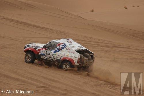 Toyota Landcruiser, foto van Alex Miedema