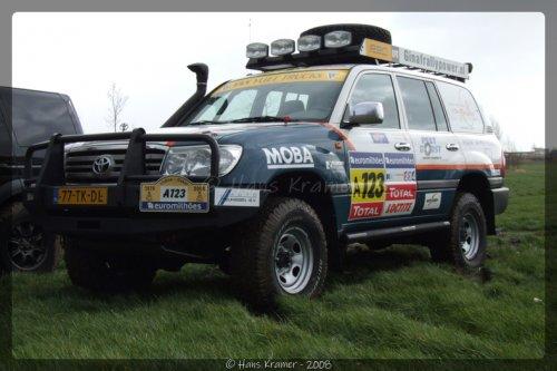 Toyota Landcruiser, foto van Hans Kramer