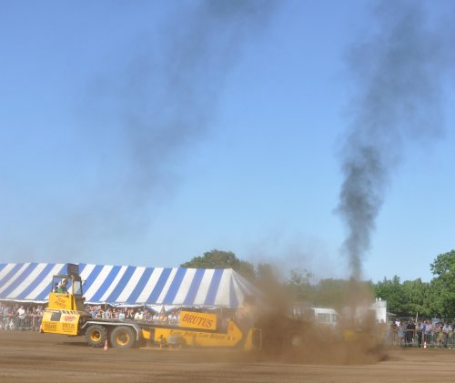 tractor pulling Tractorpulling, foto van nht8040